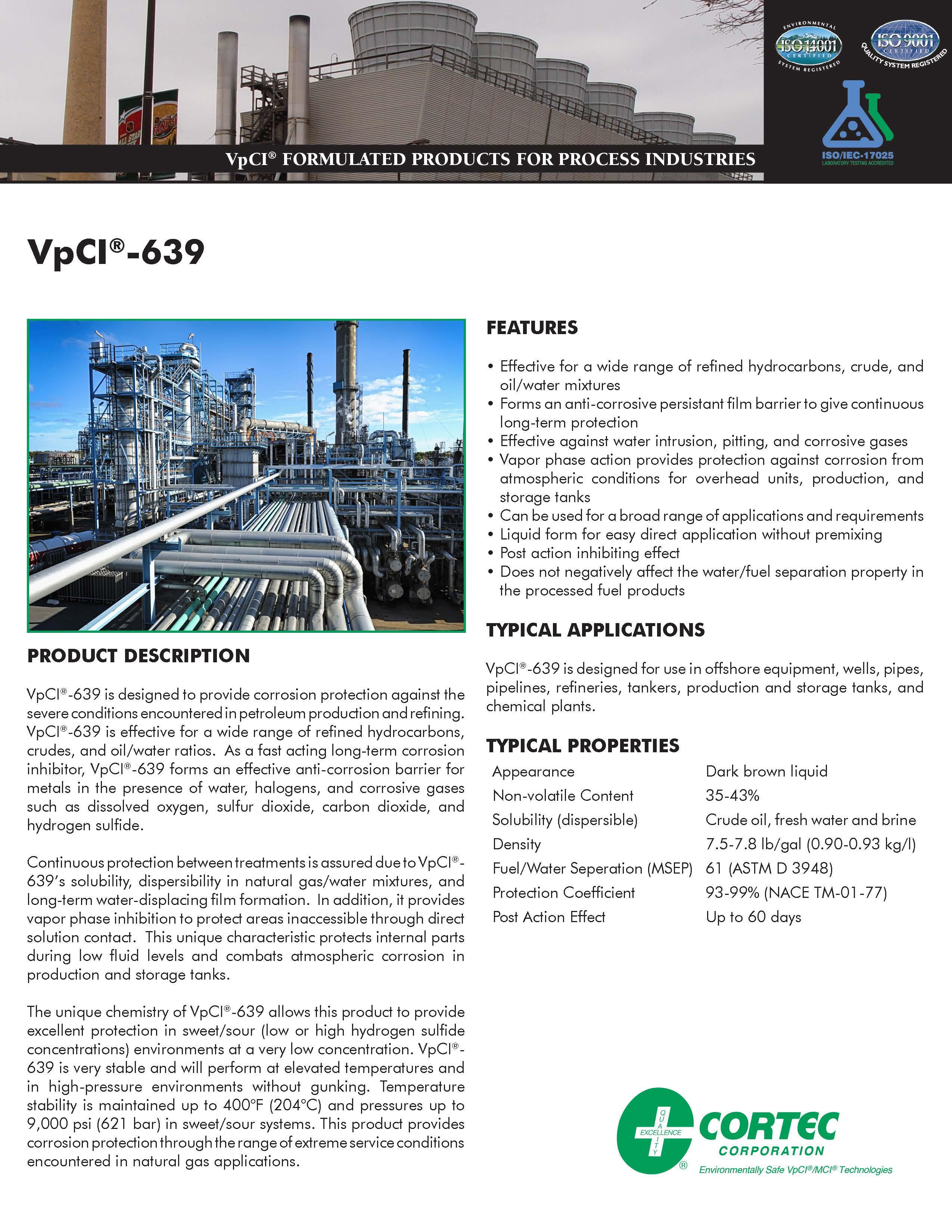VpCI®-639 | Cortec Corporation