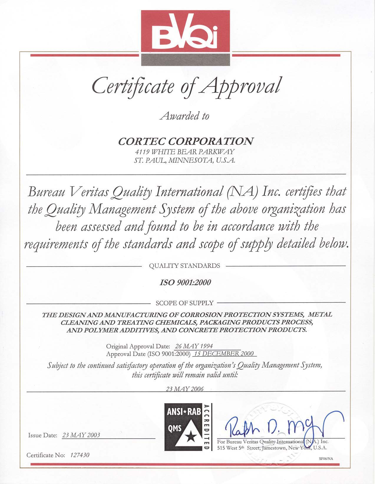 Awards And Testimonials For Corteccorporation