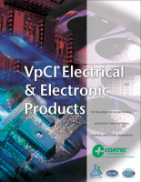 Cover for VpCI Electrical and Electronic Products Brochure