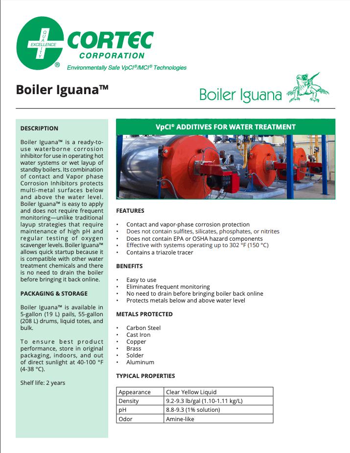 Boiler Iguana PDS