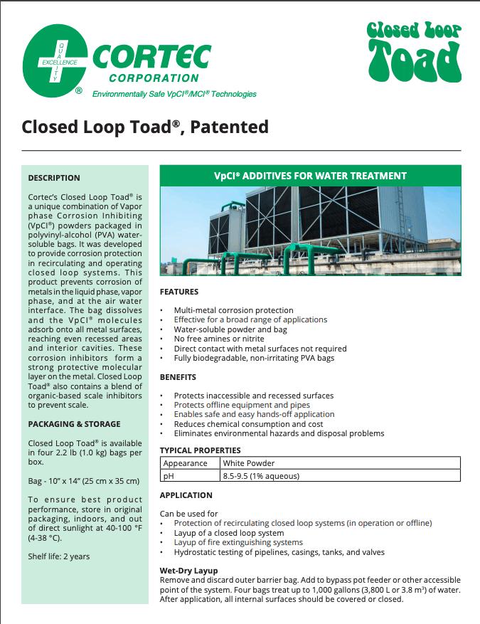closed loop toad PDS
