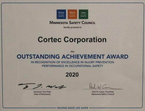 NEWS ALERT: Cortec® Corporation Earns Third Consecutive Governor's Safety Award!